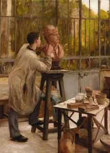 Edouard Dantan, L'Atelier du Sculpteur, wikimedia