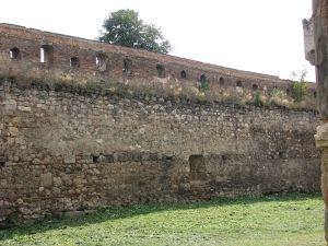 a wall of the Aiud citadel, from wikimedia
