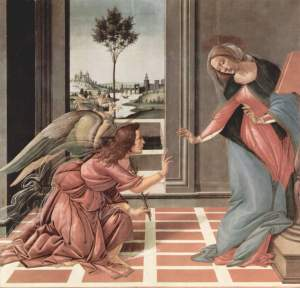 Botticelli, public domain from wikimedia