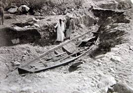 the ghostly boats of Abydos, wikipedia