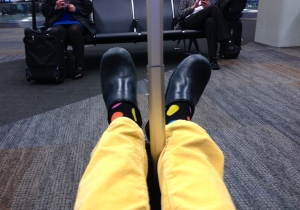 my yellow pants, my Danskos