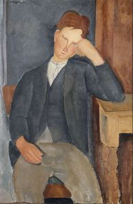 Le Jeune Apprenti (The Young Apprentice) by Amedeo Modigliani - wikimedia