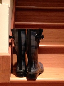 New rule: Never go to a writing residency in the Pacific NW without rainboots #emergencypurchase