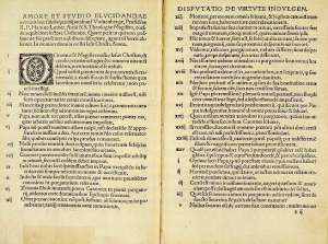Luther's list of 95 Theses. I guess he was pretty sure. (wikimedia)