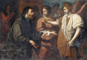 Abraham und die drei Engel, Anonymous, 27th centure