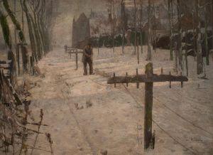 Albert Baertsoen, Cordiers (Rope-makers)
