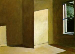 "Hopper's ""Sun in an Empty Room"""