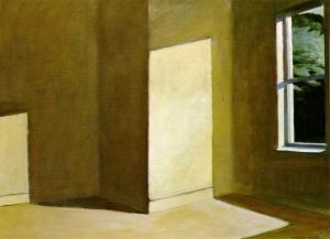 Sun in an Empty Room, Hopper.