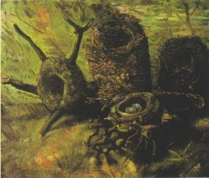 Van_Gogh_-_Stillleben_mit_fünf_Vogelnestern