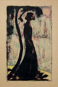 Solitude by Émile Bernard (wikimedia)