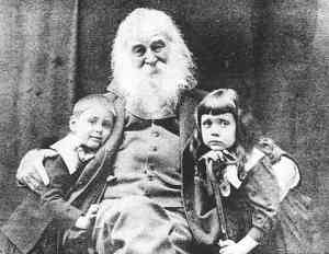 Uncle Walt with unidentified children (photo here)